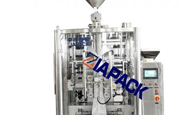 Automatic oil &sauce filling packaging sealing machine