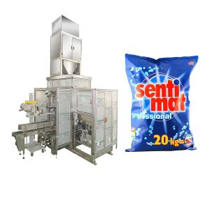 自動預製大袋包裝機洗滌劑粉末開口袋