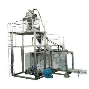 大袋自動粉末稱重灌裝機奶粉包裝機