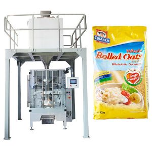 線性稱重自動燕麥包裝機