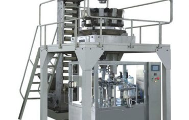 Automatic nuts candy premade pouch packing machine