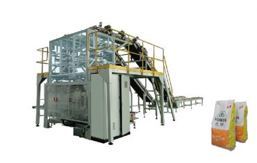 Automatic small sachets bailing in to big bag packaging machine